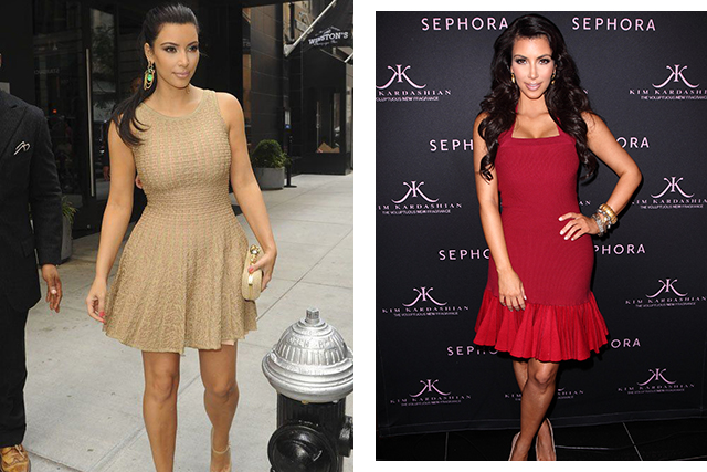 Kim Kardashian in Alaïa (image: Getty)