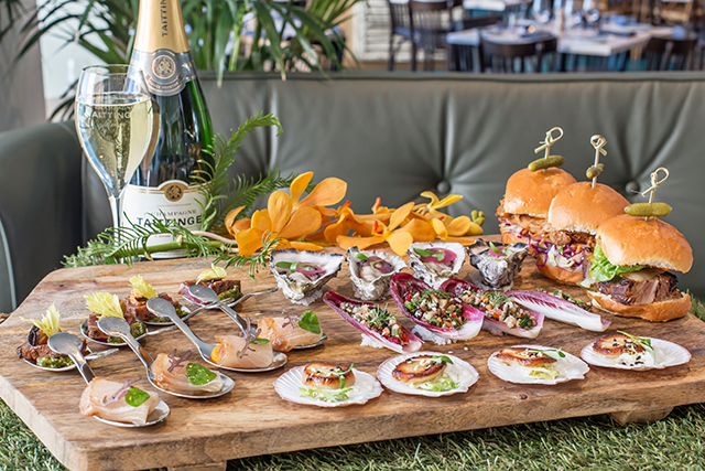 Nola Smokehouse and Bar: Hit Barangaroo's Nola Smokehouse and Bar for an action-packed race day of fun. $90 per persons sets you up for 3.5 hours of canapés, a glass of bubbles on arrival, live music and all the trackside activity beamed in via big screens. Level 1, Tower 1, 100 Barangaroo Ave, Barangaroo.