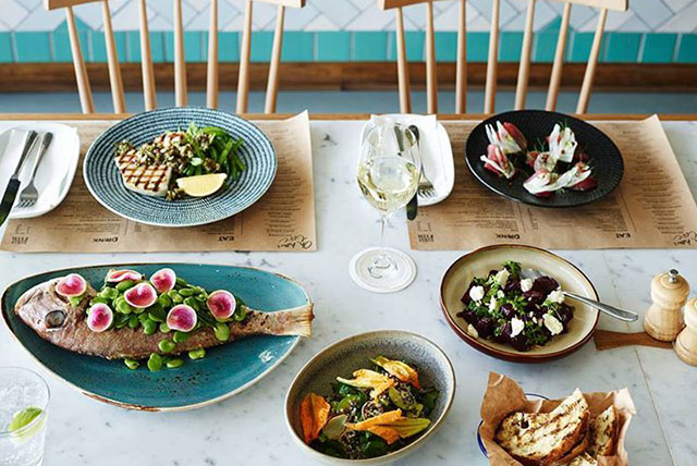 North Bondi Fish: Pull up a seat on the achingly hip deck with your best gal pals and just soak. It. In. Ladies who lunch can hit the salad hard (the quinoa is a knockout) or the light-as-a-feather fish dishes served by the very handsome wait crew. Carrie Bradshaw would approve.