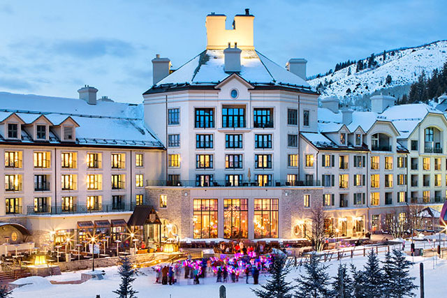 Park Hyatt Beaver Creek: The A-listers may gather in Aspen, but the billionaires head to nearby Beaver Creek. And they all stay at the ritzy Park Hyatt, because just look at it… 136 E Thomas Pl, Beaver Creek, Colorado 81620 USA
