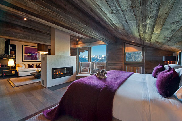 The Lodge Verbier: Part of Sir Richard Branson's stable of über luxe lodgings, the nine-bedroom Lodge is the luxiest log cabin on the Alps. Expect Swiss precision encased in seriously chic designer digs. Snow capped paradise. Chemin de Plenzadzeu 3, 1936 Verbier, Switzerland