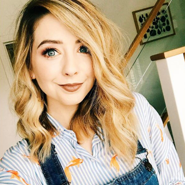Beauty #1 Zoe Sugg aka 'Zoella'. This beauty obsessed girl-next-door turned her relatable beauty YouTube posts into a very lucrative career – not only does she rule the YouTube beauty scene but she's the author of a slew of bestselling fiction books and also has her very own beauty line.