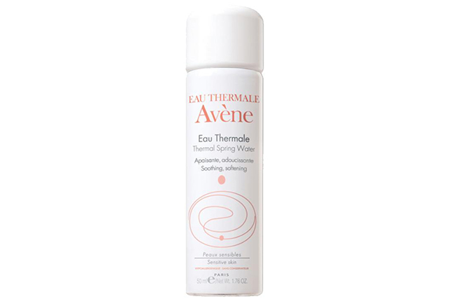 Avene thermal spring water spray, $9.99: It tones, moisturises, soothes and cleanses skin – is there anything this French must-have can't do? French actress and Bond girl Eva Green reportedly never leaves home without it.