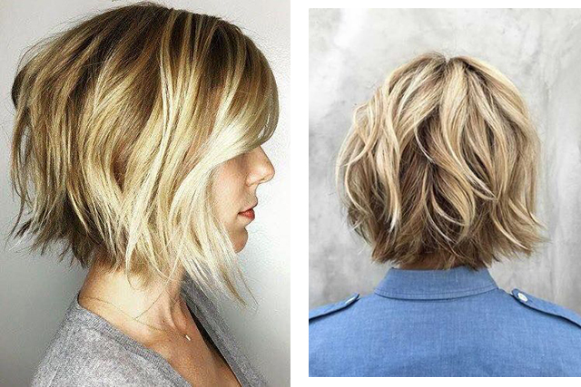 #5 Bob cut. Images: Pinterest/Katy Jennings, Pinterest/asalonnearme.com