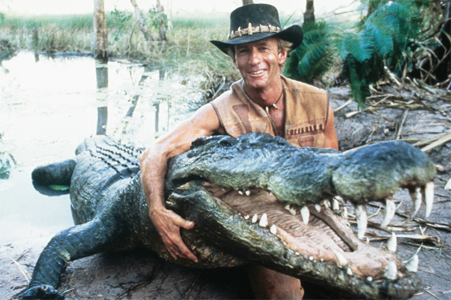 "Crocodile Dundee (1986). Back in the '80s ""That's not a knife! THAT'S a knife."" put Australian squarely on the map."