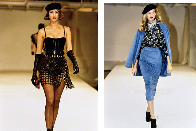 Alaïa's 1991 ready-to-wear collection is considered a game-changer (images: Getty)
