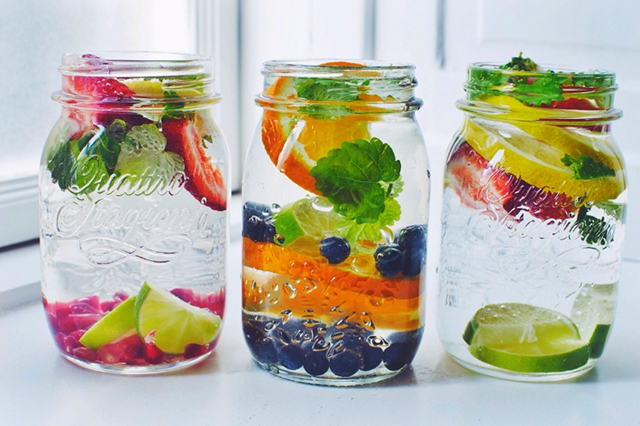 Infused water. A trend I can get behind because you can make it at home without any packaging, processing or additives. It encourages hydration by making plain water more palatable and has various health benefits, depending on what you add.