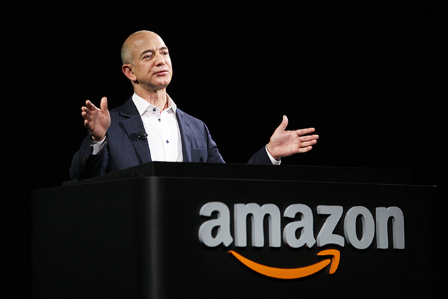 Jeff Bezos: Amazon CEO and the richest man in the world in 2017 (image: Getty)
