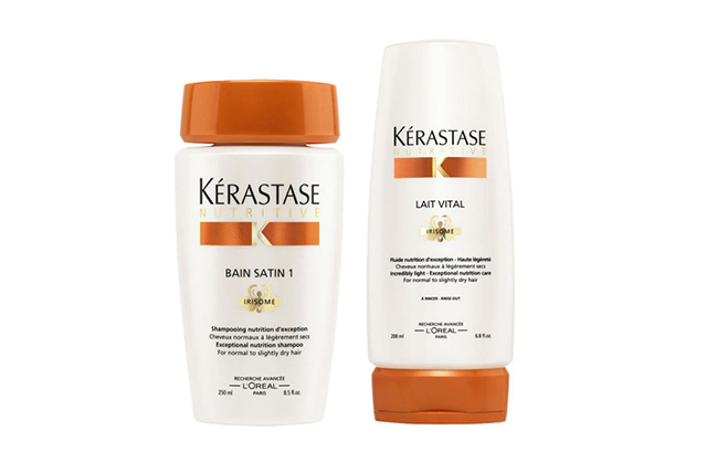 Kerastase Nutritive Bain Shampoo and Conditioner