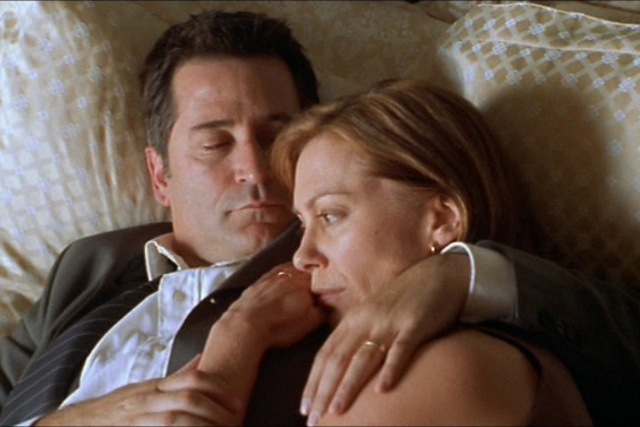 Lantana (2001). Lies, drama and deceit abound with a rollcall of Australian finest actors – Geoffrey Rush, Anthony LaPaglia and Kerry Armstrong.