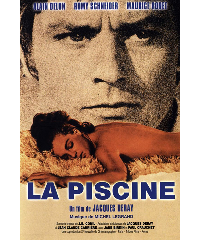 La Piscine: Set in the stunning Côte d'Azur region, this 1969 mysterious thriller was a hit at the box office. Shot in both French and English, it stars Austrian-French actress Romy Schneider, Alain Delon and honorary Frenchwoman Jane Birkin.