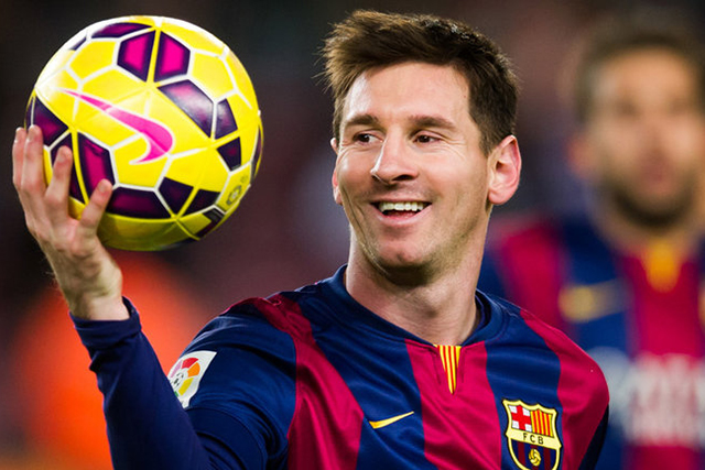 #14 Lionel Messi, athlete $80 million