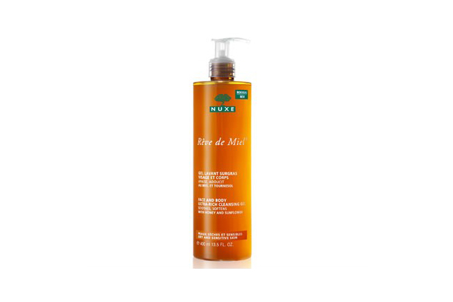 Nuxe Huile Prodigeuse multi-purpose dry oil, $39.95: Beauty editors wax lyrical about this liquid gold by one of France's most popular pharmacy brands. Rich in plant extracts, it smoothes, softens and imparts shine to skin and hair.