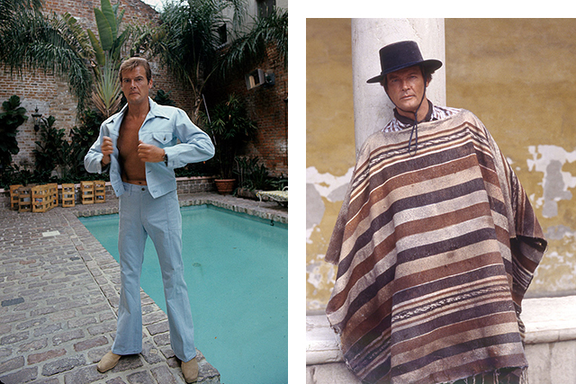 The powder blue leisure suit and the poncho: era-defining
