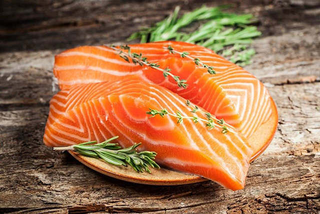 Salmon vs white fish: Smaller, oily white fish such as local wild caught garfish, mackerel, anchovies and sardines are higher in beneficial Omega 3s than farmed salmon, and are lower in potential accumulated toxins such a mercury making them the healthier, more affordable option.