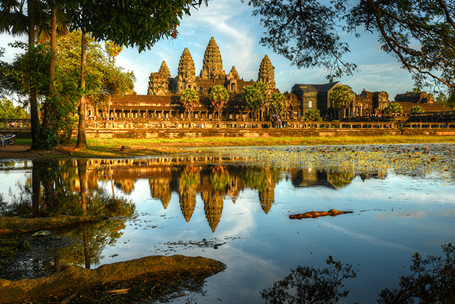 Siem Reap, Cambodia (image: Getty)