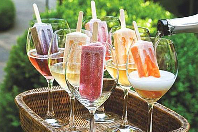 Bubbles: bubbles signify fun (think: French champagne) and it's a trend that never goes out of style with Whole Foods predicting even more sparkling good time drinks will hit our glasses in 2018, especially 'healthy' bubbles like inventive new sparkling water varieties.