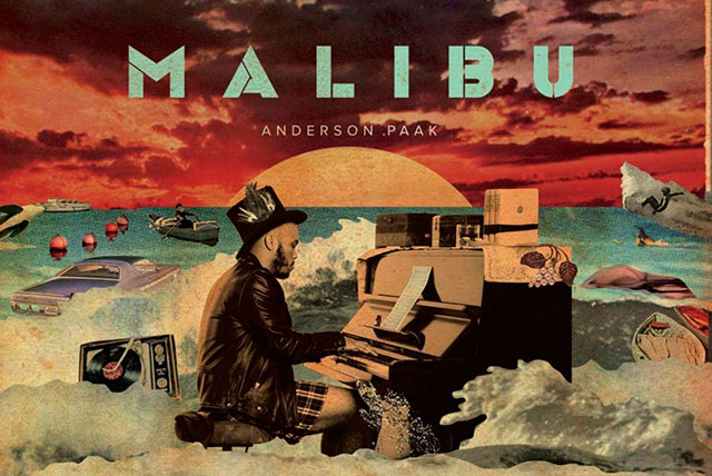 Anderson .Paak – Malibu: Three albums into his career, 29-year old rapper and singer Anderson .Paak is ridiculously on point, merging 70s soul and funk influences with the kind of free-flowing jazz-informed hip hop that's reminiscent of Thundercat and Flying Lotus. Paak however has his own muse, and on Malibu he follows it relentlessly and with delightful results.