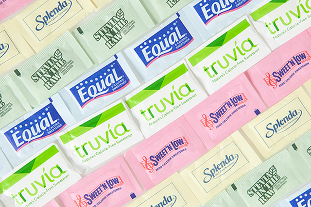 5. Artificial sweeteners. They do not aid weight loss; in fact they can have the opposite effect. As your tastebuds get used to their intense sweetness you crave more sweet food and, as a result, moderately sweet foods, like fruit, become less appealing.