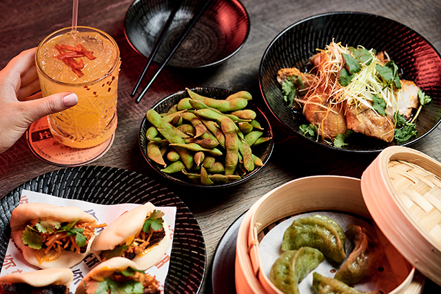 East London: Take Dad on a delish trip to the Orient this Father's Day, no passport required, via spiced up East London in The London Hotel, Paddington. The $49 Father's Day banquet menu ($20 for the under 12 crew) will have your dad as happy as the proverbial Buddha.