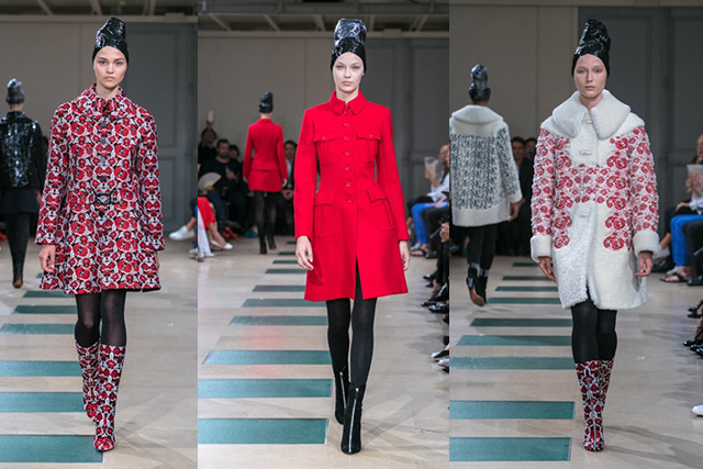 Alaïa returns to couture after a six-year hiatus for Fall/Winter 2017 with a stunning collection (images: www.alaia.fr)