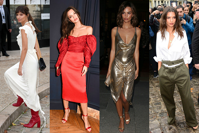 Emily Ratajkowski was the low-key celebrity style star of the week
