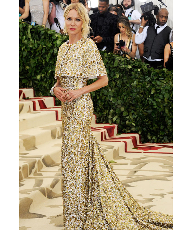 Naomi Watts wearing Michael Kors at the Met Gala 2018. Image credit: Getty Images.