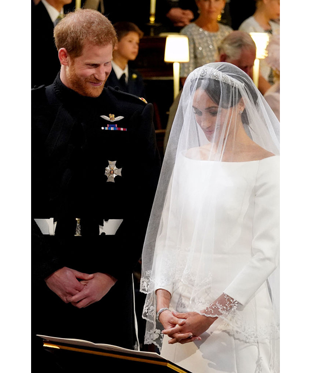 "When the bride arrived at the altar, Prince Harry is alleged to have said, ""You look amazing."" Sigh…"