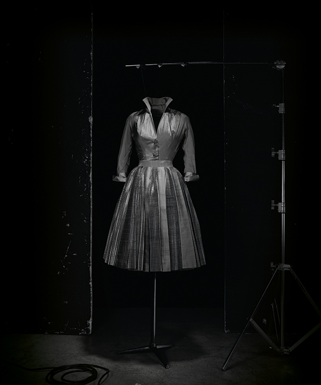 Topaze Cocktail ensemble Haute Couture AW 1951, Christian Dior Museum collection, Granville. ®Laziz Hamani