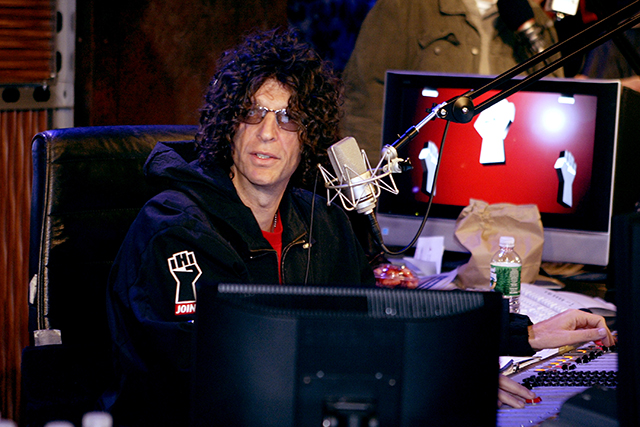 7. Howard Stern, radio host ($85m)