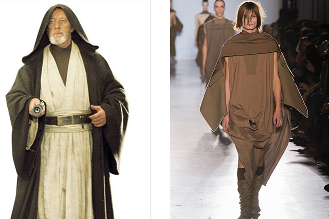 Rick Owens mens fall 2015