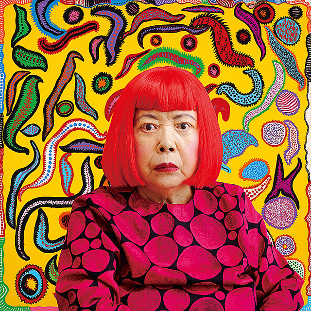 "Yayoi Kusama's psychedelic colour palette and immersive, dream-like installations will no doubt be a drawcard. The Japanese artist is exhibiting a new installation, inviting visitors to apply a 'flower motif' to a room, over four months – until it is ""obliterated"", referencing her first experience of hallucination."