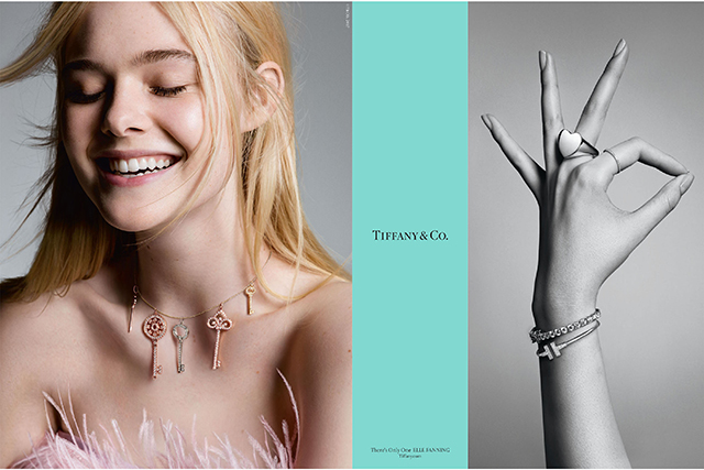 Elle Fanning for Tiffany & Co. A/W '17