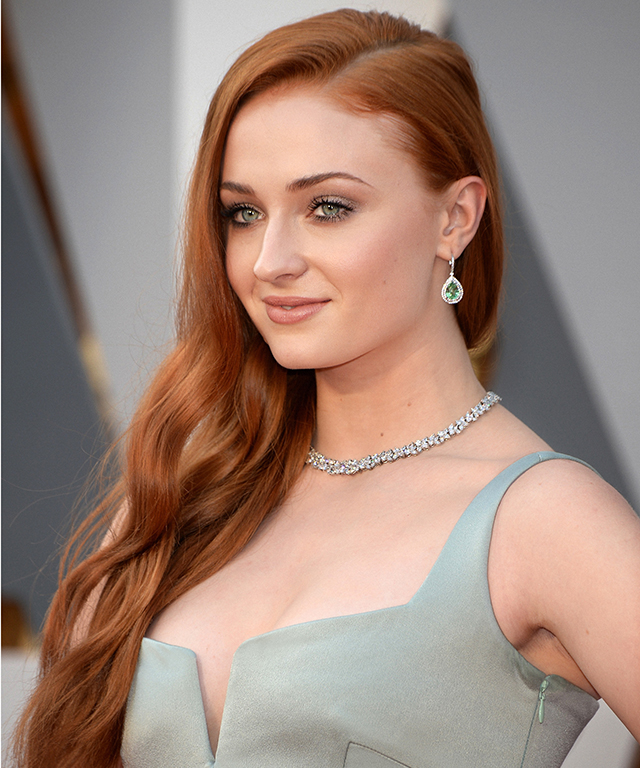 Sophie Turner at the 2016 Oscars