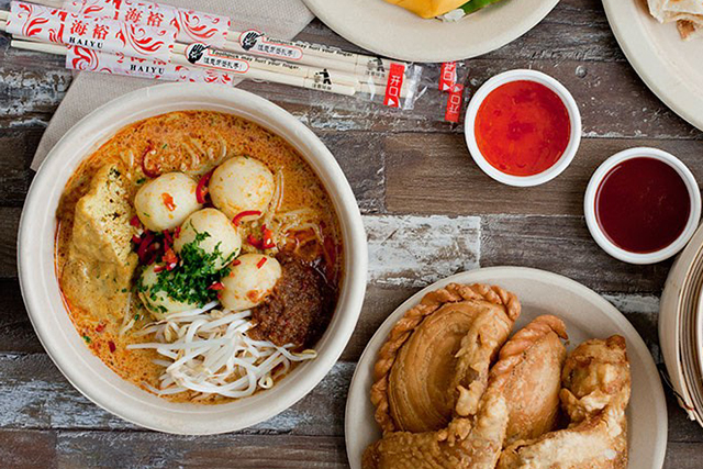Alex Lee Kitchen: Spice Alley on Chippendale's buzzy new cool-kid eating precinct Kensington Street plays host to celebrated Singaporean chef Alex Lee. Excellent laksa form on the kitchen menu thanks to his Katong laksa noodles.