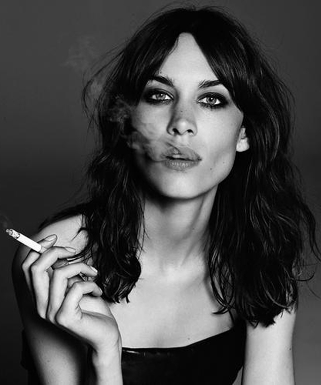 Alexa Chung, 32, an English TV host and It-girl who spends more time at fashion shows than in front of the screen.