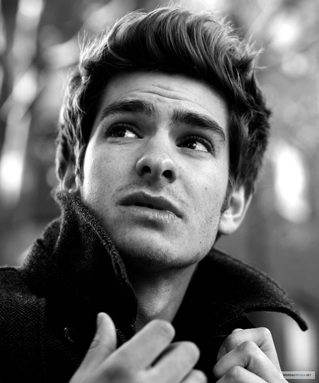 Andrew Garfield, 32, English-American lead in 'The Amazing Spider-Man' (and Emma Stone's ex).