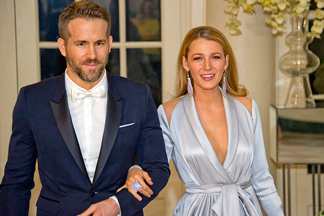 6. Ryan Reynolds always borrows Blake Lively's the H20 tanning mist – as it doesn't make beards go ginger and only takes four hours to develop