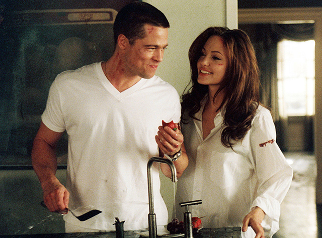 A scene from 'Mr and Mrs Smith'