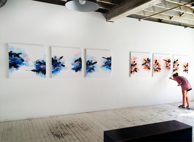 The show at China Heights gallery