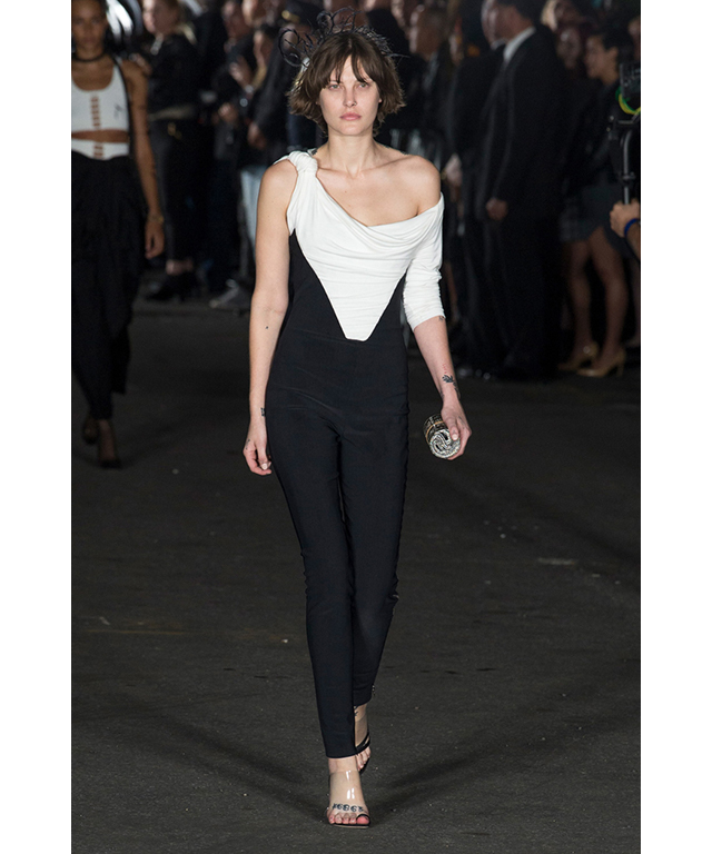 Catherine McNeil: No stranger to Fashion Week, Aussie model Catherine McNeil walked for big guns Alexander Wang and Helmut Lang at NYFW.