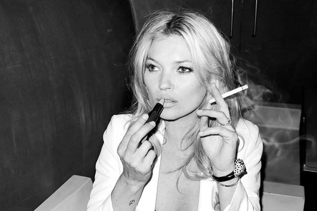 3. Her love of a ciggie. Almost as legendary as her style, Mossy's long-term love affair with smoking is world renowned.