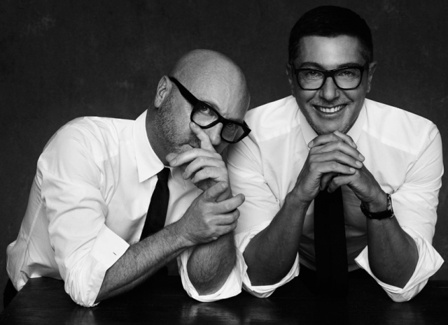 Stefano Gabbana & Domenico Dolce: Despite going their separate ways after a 23-year relationship, Dolce & Gabbana have continued to make incredible couture and are currently celebrating their 30th year in business together.