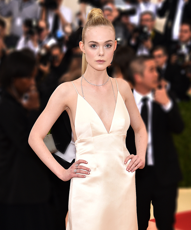 Elle Fanning at the 2016 Met Gala