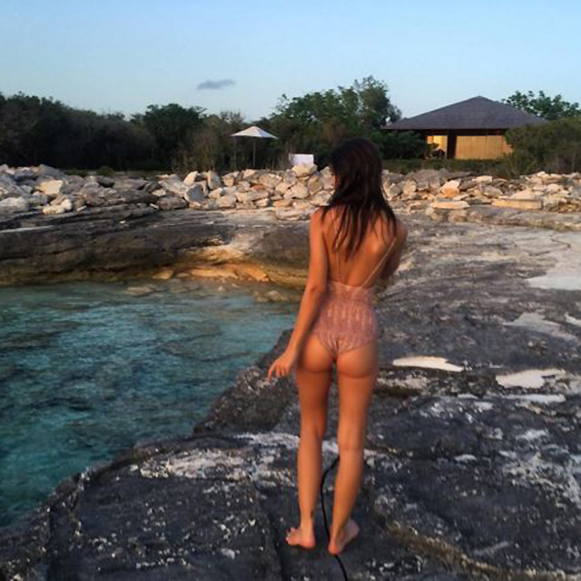 She shares ALL her sexy holiday snaps with her 6.5 MILLION Instagram followers, including the island getaway she's currently on for her 25th birthday.