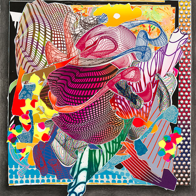 Frank Stella: The Kenneth Tyler Print Collection, National Gallery of Australia, Canberra: Canberra's National Gallery of Australia presents Frank Stella: The Kenneth Tyler Print Collection. Artist Frank Stella and master printer Kenneth Tyler played a significant role in the development of twentieth-century American printmaking. Throughout his career, Stella has been a constant adventurer and highwire act, an 'unstoppable risk-taker', as collaborator Tyler described him in April this year. The combination of the ambition and unpredictability of Stella's explorations with a workshop that supported the artist in his ventures resulted in extraordinary prints. Current – July, 2017 (Image: Frank Stella - Frank Stella)