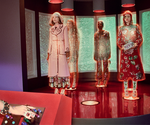 Gucci takes its cue from '50s and '60s sci-fi flicks for A/W '17