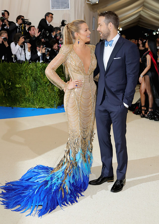 Blake Lively and Ryan Renolds