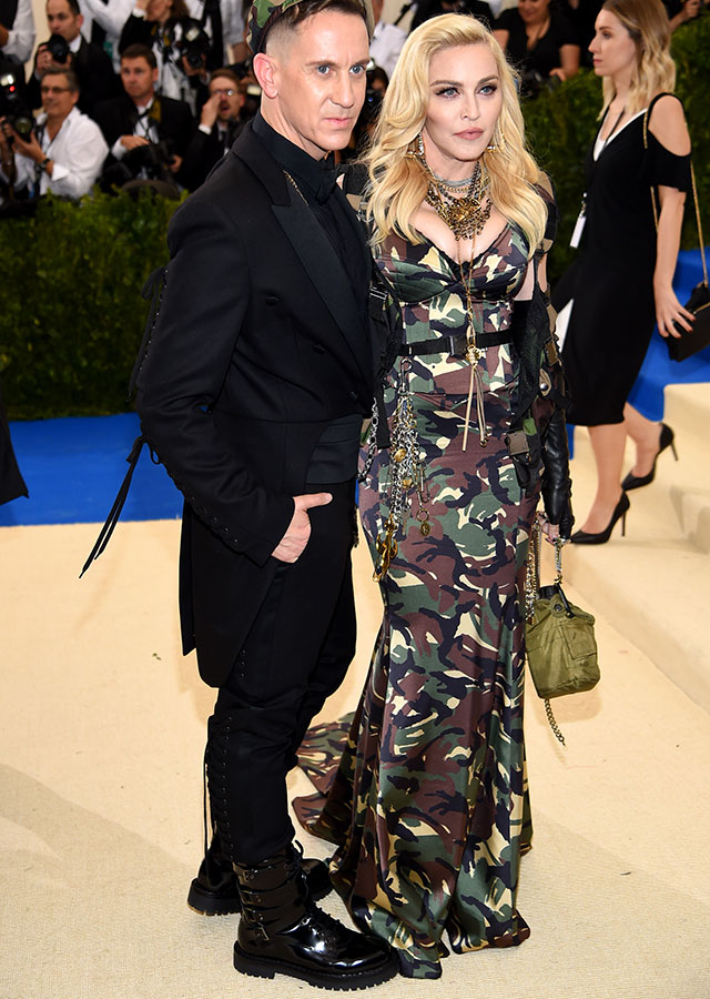 Jeremy Scott and Madonna