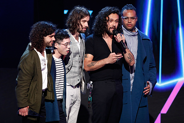 "The highest award of the night was picked up by Gang of Youths, who among nabbing Best Group and Best Rock Album won Album of the Year for 'Go Father In Lightness'. ""We're Pacific Islanders and we're very proud of our heritage,"" said lead singer David Le'aupepe as he accepted the final award. ""We are a loving community and we're not just useful on the footy field, and we hope this proves something. My grandparents came on a boat after the Holocaust, they came as refugees to this country and thank you for welcoming us. We love this country."""